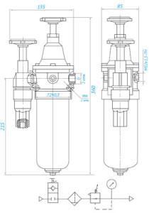 П-БК 01 (Dy06) (ПМК-04, ПМК-08) без манометра = 670,78 грн с НДС