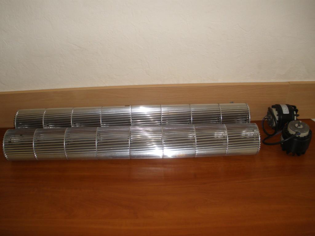 Колесо тангенциального вентилятора 100×786