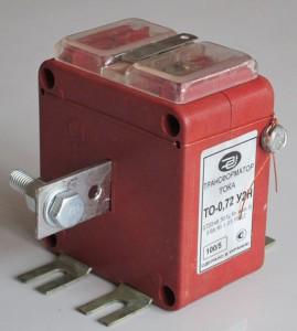 Трансформатор тока ТО-072 и ТОШ-0,72 У2 Н