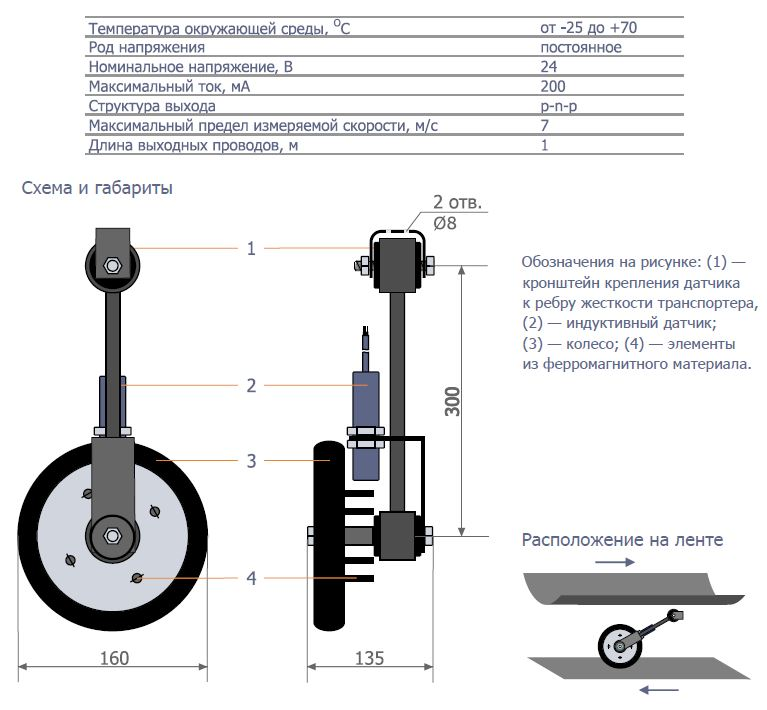 Датчик ДСТЛ-002