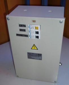 Ящик ЯТП с понижающим трансформатором