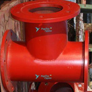 Подставка пожарная проходная стальная ППДФ 250 х 250